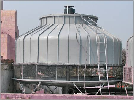 A Typical Cooling Tower