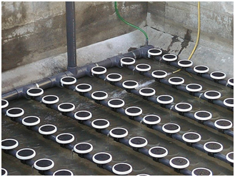 Diffusion Amp Sparging Systems Sewage Treatment Reverse